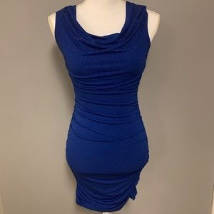 EUC Blue Sweet Storm Fitted formal dress